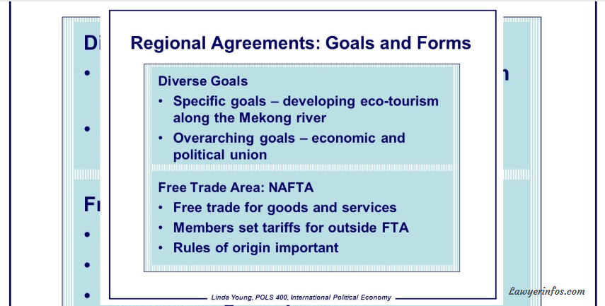 Political and economic agreements