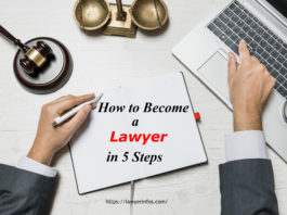 How to Become a Lawyer in 5 Steps