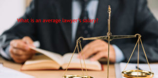 What is an average lawyer's salary